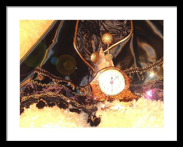 Mantles Framed Print featuring the photograph Midnite Prayer by Cleautrice Smith