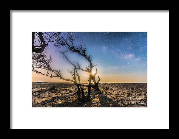 Milky Way Framed Print featuring the photograph Milky Way Dream by Robert Loe