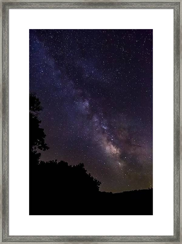 Milky Way Galaxy Framed Print By Dale Kincaid