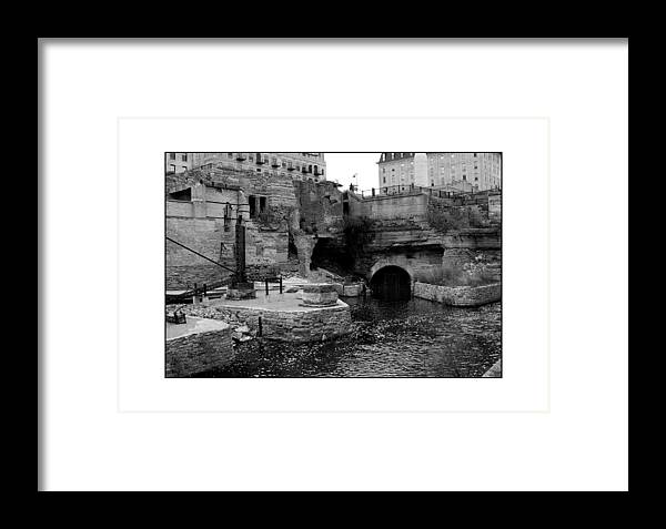 Mill Framed Print featuring the photograph Mill Ruins by Filipe N Marques