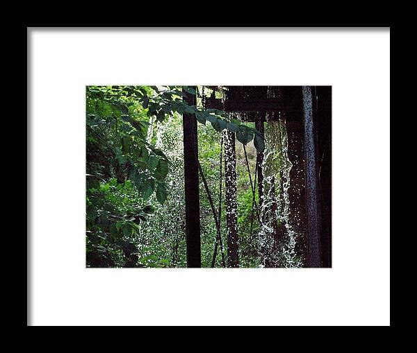 Mill Framed Print featuring the photograph Mill Water by Michael L Kimble