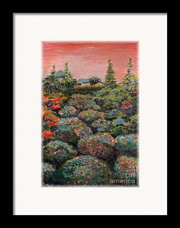 Minnesota Framed Print featuring the painting Minnesota Memories by Nadine Rippelmeyer