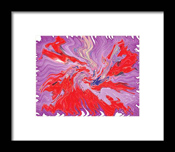 Abstract Framed Print featuring the digital art Mirage by Joshua Sunday