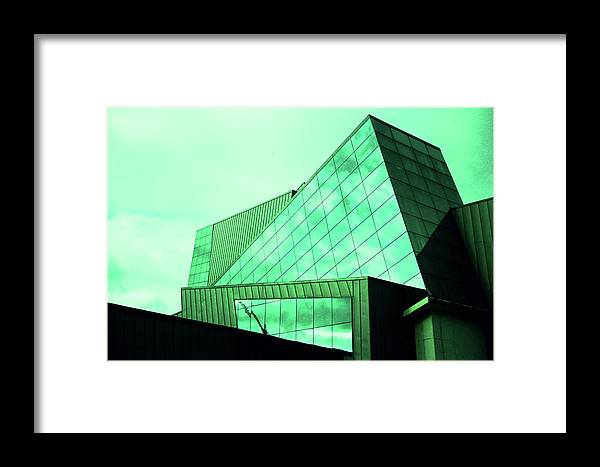 Mirror Framed Print featuring the photograph Mirror Building 3 by Nacho Vega