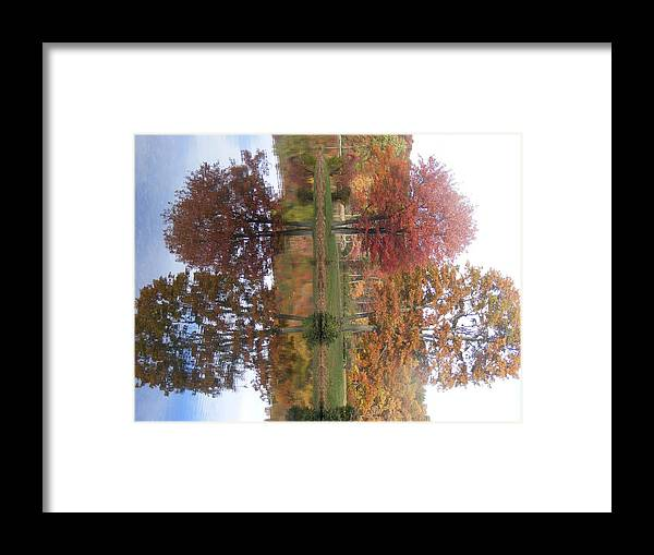 Lake Framed Print featuring the photograph Mirror Mirror by James and Vickie Rankin