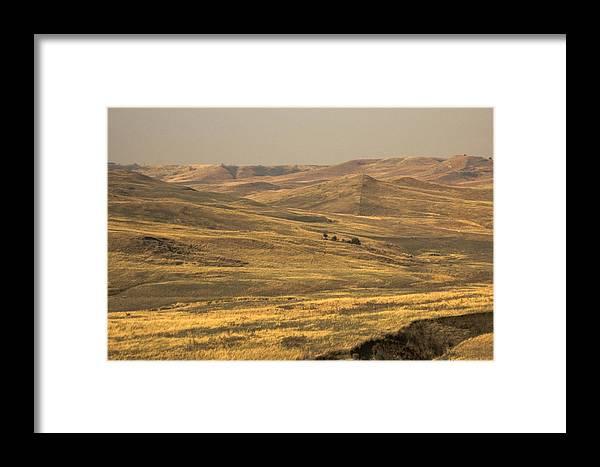Missouri River Framed Print featuring the photograph Missouri River Breaks by Ralph Steinhauer