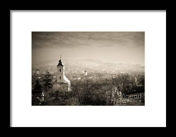 Mist Framed Print featuring the photograph Mist by Gabriela Insuratelu