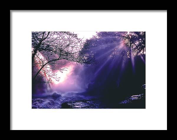 Landscape Framed Print featuring the photograph Mist Of Ireland by Matthew Altenbach