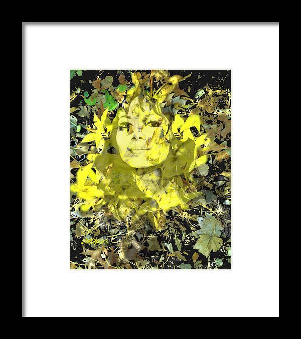 Mistress Of Autumn Framed Print featuring the digital art Mistress of Autumn by Seth Weaver