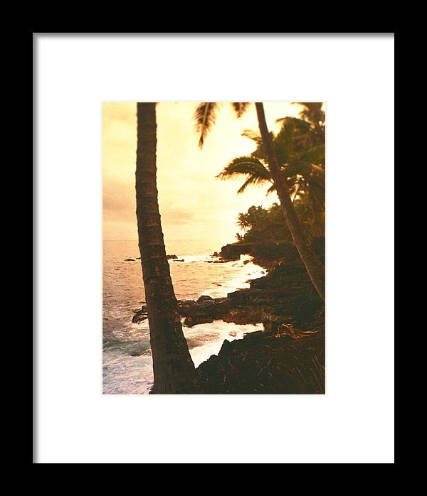 Beach Framed Print featuring the photograph Misty Dawn by Diane Merkle