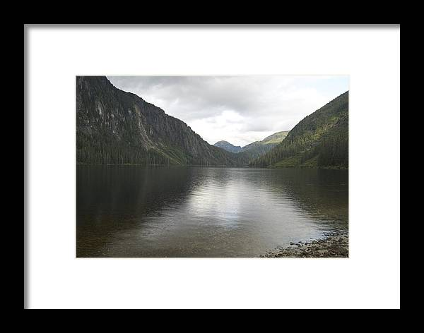 Alaska Framed Print featuring the photograph Misty Fjord 3 by Michael Peychich