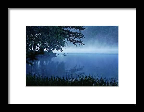 Misty Framed Print featuring the photograph Misty Morning by Joyce Huhra