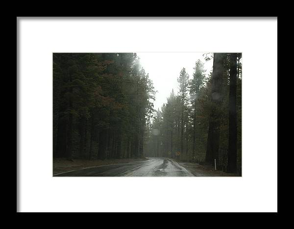 California Framed Print featuring the photograph Misty Mountain by Marcus L Wise