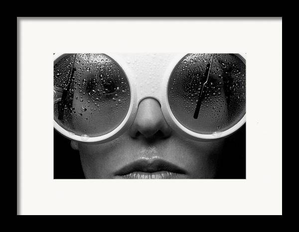 Babe Framed Print featuring the photograph Misty by Sandy Ostroff