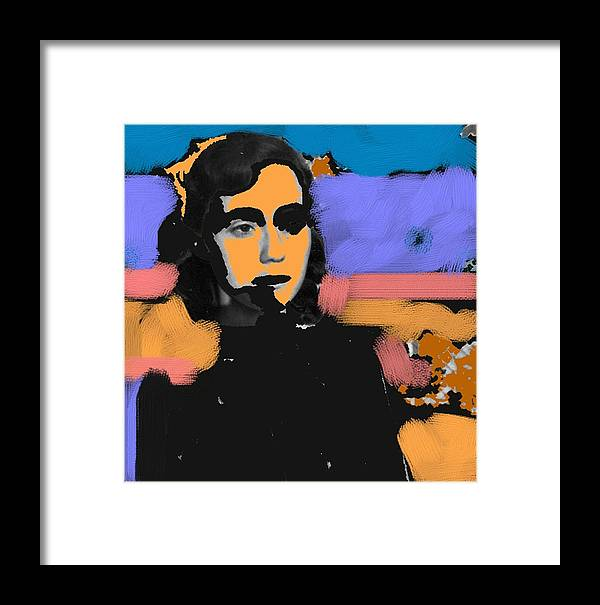 Figurative Framed Print featuring the photograph Misty Woman by Paul Freidin