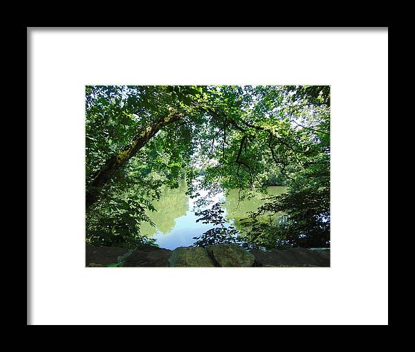 Water Framed Print featuring the photograph Mixed by Karla Hoffman