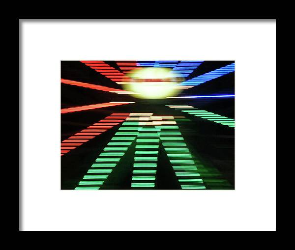 Contemporary Framed Print featuring the digital art Modern Shapes by Florene Welebny