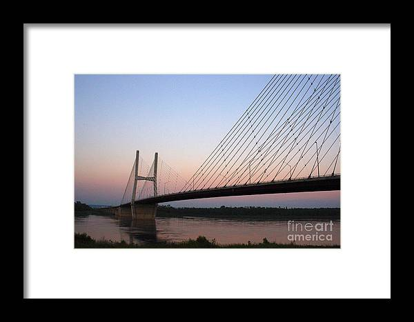 Architecture Framed Print featuring the photograph Modified Suspension by Alan Look