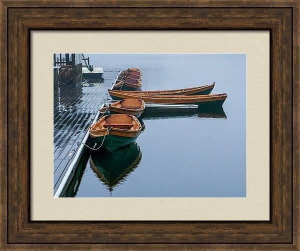 Mohonk Lake Rowboats by Robert Grant