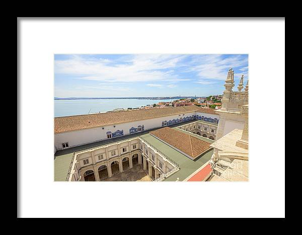 Lisbon Framed Print featuring the photograph Monastery Of Sao Vicente Of Fora by Benny Marty