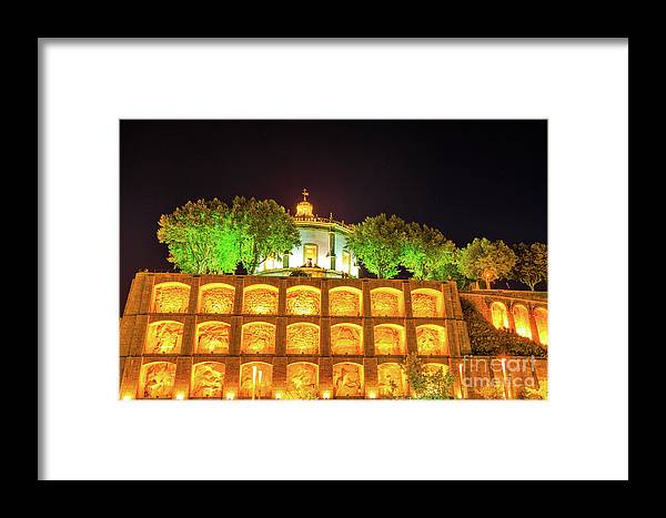 Porto Framed Print featuring the photograph Monastery Of Serra Do Pilar by Benny Marty