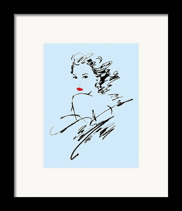 Adult Framed Print featuring the photograph Monique Variant 2 by Giannelli