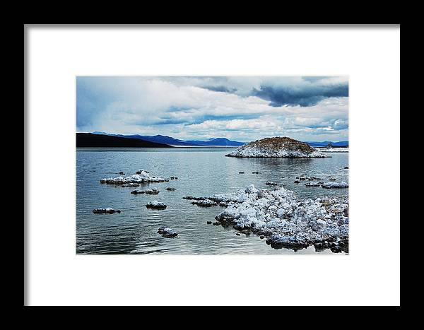 Mono Lake Framed Print featuring the photograph Mono by Jessica Roth
