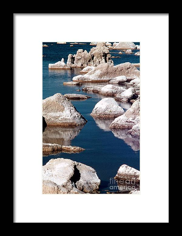 California Scenes Framed Print featuring the photograph Mono Lake Tufa by Norman Andrus