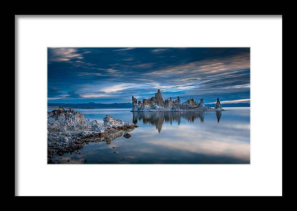 Mono Lake Framed Print featuring the photograph Mono Lake Tufas by Ralph Vazquez