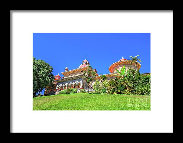 Sintra Framed Print featuring the photograph Monserrate Palace Sintra by Benny Marty