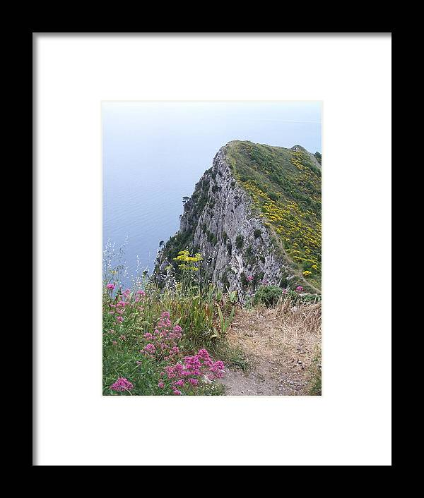 Capri Framed Print featuring the photograph Monte Solaro by Adam Schwartz