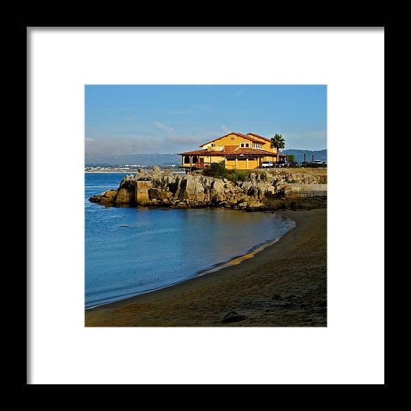 Monterey Bay Restaurant Framed Print featuring the photograph Monterey Bay Restaurant by Kirsten Giving