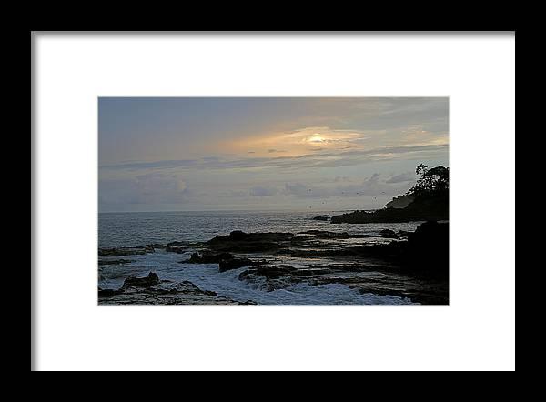 Montezuma Framed Print featuring the photograph Montezuma Sunset by Marc Levine