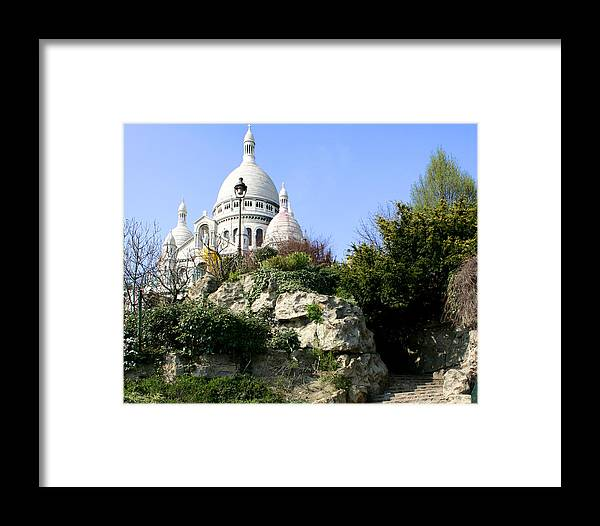 Montmartre Framed Print featuring the photograph Montmartre by Hans Jankowski