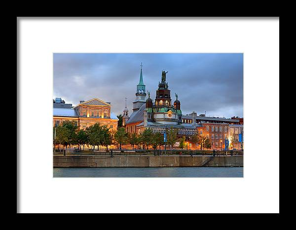 Montreal Framed Print featuring the photograph Montreal by Songquan Deng