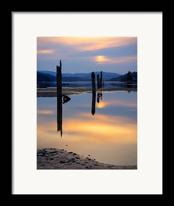 Moody Framed Print featuring the photograph Mood On The Bay by Idaho Scenic Images Linda Lantzy