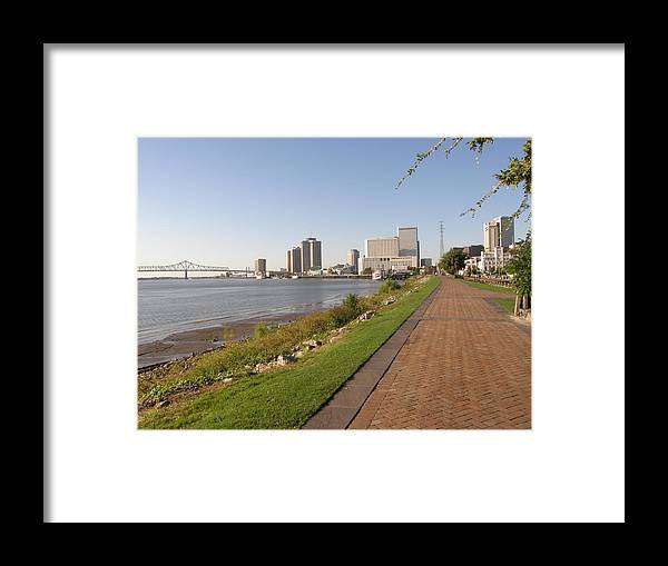 New Orleans Framed Print featuring the photograph Moon Walk by Jack Herrington