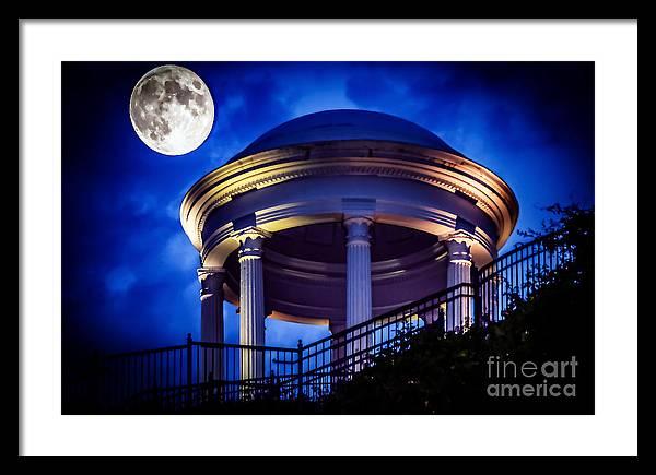 Moonlit Gazebo by Tracy Brock