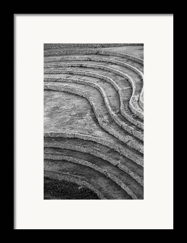 Moray Framed Print featuring the photograph Moray Lines by Marcus Best