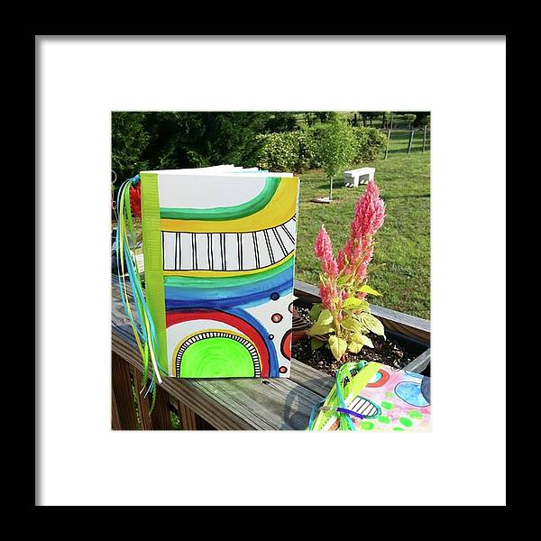 Framed Print featuring the photograph More by Robin Mead