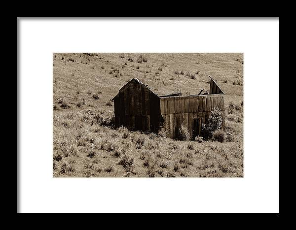 Smith Mine Framed Print featuring the photograph More Smith Mine Remnants by Sheri Bartoszek