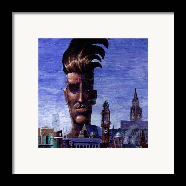 Morissey Framed Print featuring the painting Morissey by Ken Meyer