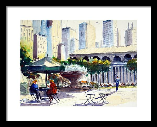 Morning, Bryant Park  by James Nyika