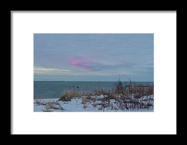 Ocean Framed Print featuring the photograph Morning Color by Barbara Blanchard