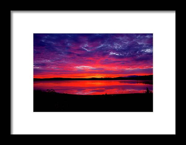 New England Framed Print featuring the photograph Morning Glory by Greg Fortier