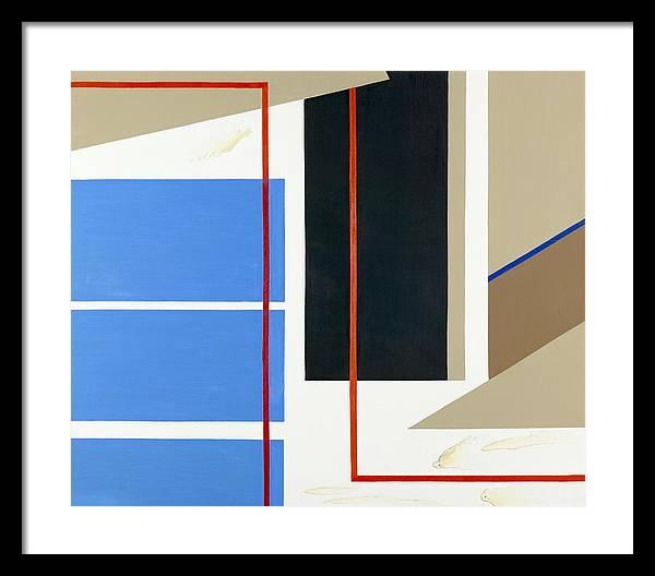 Abstract Framed Print featuring the painting Morning Harmony I by Ara Elena
