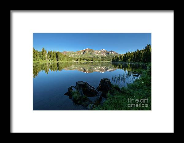 Lake Framed Print featuring the photograph Morning Meditation - Lake Irwin by Dusty Demerson
