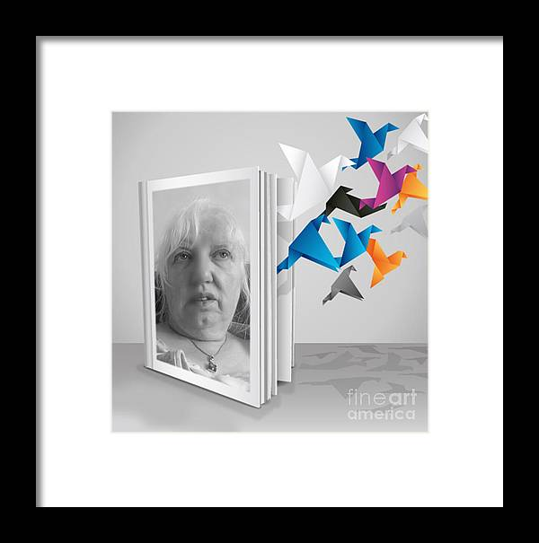 Portraiture Framed Print featuring the photograph Morning Thoughts by Joan-Violet Stretch