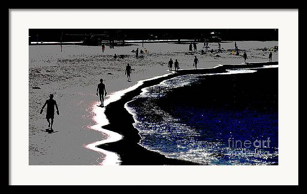 Morning Framed Print featuring the photograph Morning Walk by Carlos Alvim