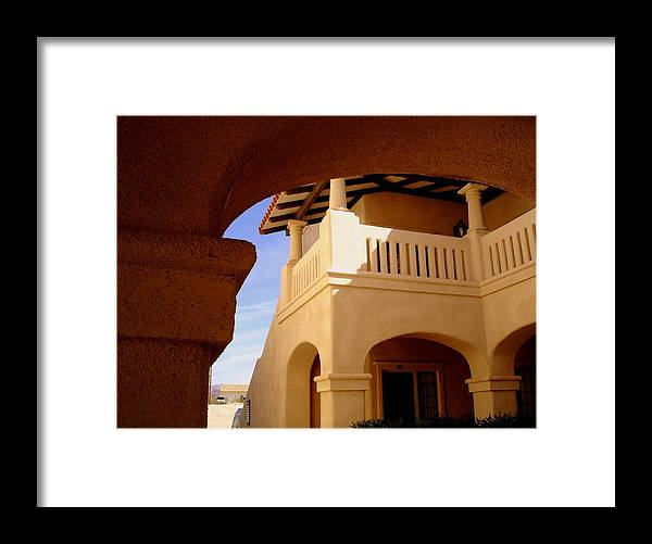 Morocco Framed Print featuring the photograph Moroccan Influence I by Lessandra Grimley